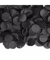 100 gram confetti snippers zwart