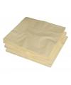 Creme kleur papieren servetten 33 x 33 cm