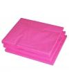 Fuchsia roze kleur papieren servetten 33 x 33 cm