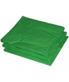 Groene kleur papieren servetten 33 x 33 cm