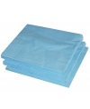 Lichtblauwe kleur papieren servetten 33 x 33 cm