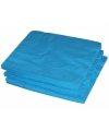 Turquoise kleur papieren servetten 33 x 33 cm