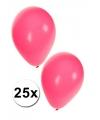 Roze ballonnen 27 cm 25 st