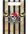 Piraten verjaardag kado zakjes 8x