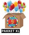 9 jarige feestversiering pakket XL