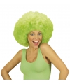 Afropruik groen Jimmy krullen
