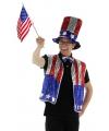 3-delige Amerika verkleedset