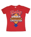 Rood Baby Under Construction girly t-shirt