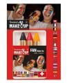 Belgische kleuren schmink stiften
