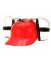 Bierfeest helmen rood