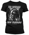 Zwart In Dude We Trust girly t-shirt