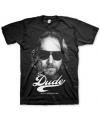 Zwart The Dude t-shirt