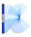 Organza tule rol blauw 40 x 200 cm