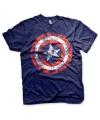Blauw Captain America t-shirt