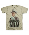 Khaki Happiness Can Be Bought t-shirt