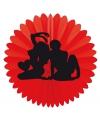 Kamasutra thema waaier rood