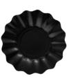 Feestartikelen diepe borden zwart