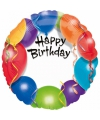 Folie ballon Happy Birthday 45 cm