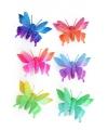 Haarspeld vlinder
