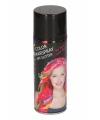 Glitter haarspray zwart metallic