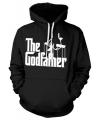 Zwarte capuchon sweater The Godfather