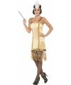 Gouden jaren 20 jurkje met pailletten