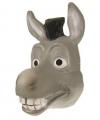 Ezels masker grijs