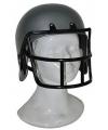 Rugby helm grijs voor kids