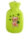 Groene kruik met hoes varken