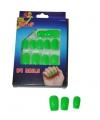 Groen neon nepnagels setje 24
