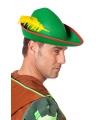 Luxe Peter Pan hoed met veer