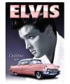 Metalen platen Elvis Cadillac 1955