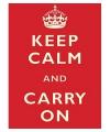 Metalen platen Keep Calm