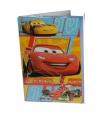 Cars verjaardagskaart 26 cm