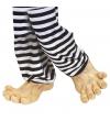 Jumbo voeten van vinyl