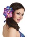 Haarclip met grote tropische bloem