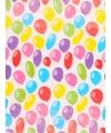Geschenkpapier gekleurd ballonnen 70 x 200 cm