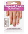 Kinder nagel stickers vlinders