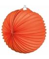 Oranje ronde lampion