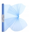 Organza tule rol lichtblauw 40 x 200 cm
