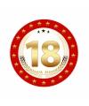 Bierviltjes 18 jaar verjaardag