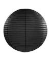 Lampion 35 cm zwart
