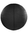 Lampion 50 cm zwart