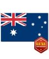 Landen vlaggen Australie