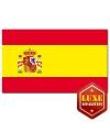 Spaanse landenvlaggen luxe