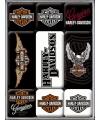 Magneten set Harley Davidson 9 stuks