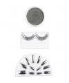 Zilveren make up set