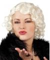 Korte blonde pruik Marilyn