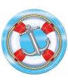 Cruise thema bordjes 8 stuks