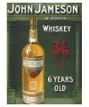 Metalen plaat John Jameson Whiskey